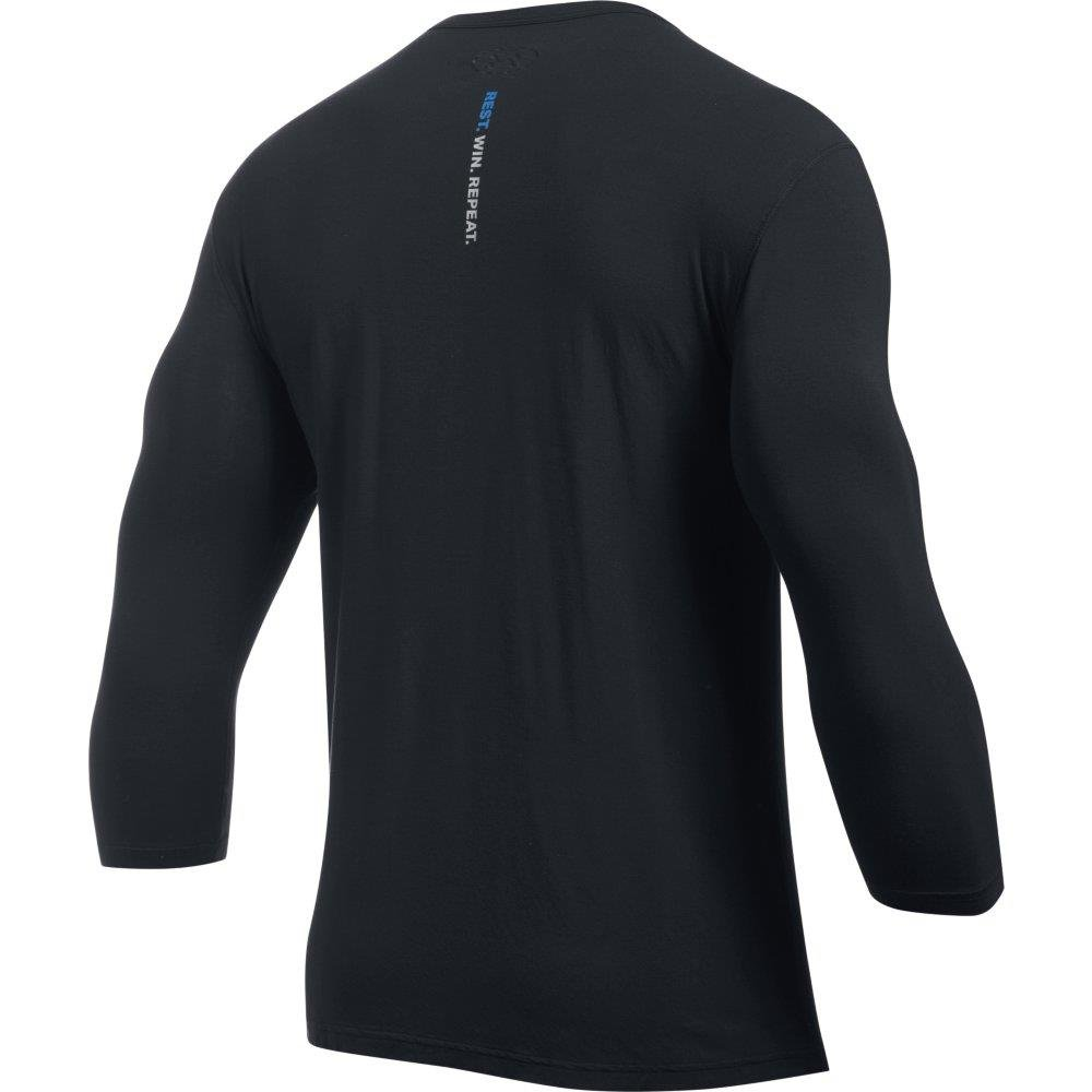 Under Armour Mens Athlete Recovery Ultra Comfort Henley