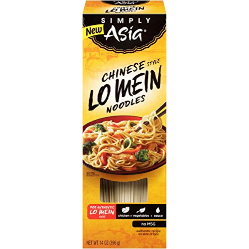 (Simply Asia Noodles Lo Mein Dry, 14 oz)