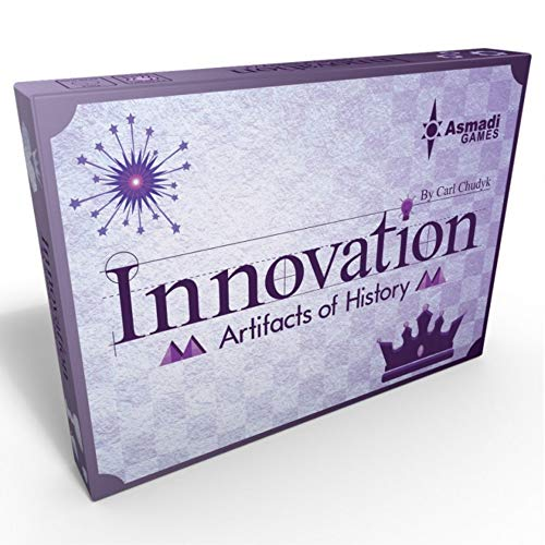 Asmadi Games Innovation: Artifacts of History Third Edition (Board Innovation Game)