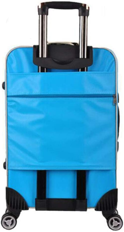 Size cm Aishanghuayi Suitcase for Portable and Expandable Business suitcases 35 23 57 Blue Color : Black, Size : 141023 inch