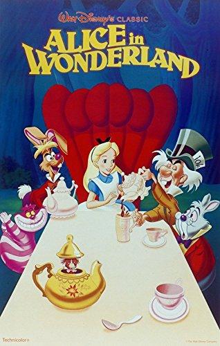 Alice in Wonderland 11x17 Movie Poster