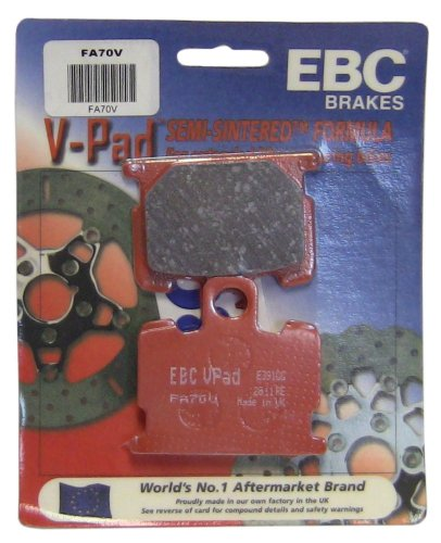 EBC Brakes FA70V Semi Sintered Disc Brake Pad