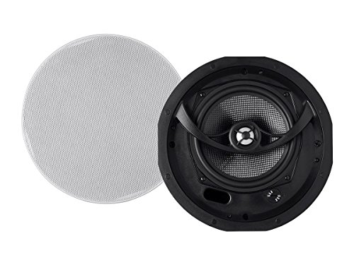 Alpha In Ceiling Speakers 6.5 Inch Carbon Fiber 2-way