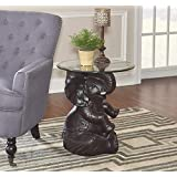 Powell Furniture 162001 Ernie Elephant Accent Table