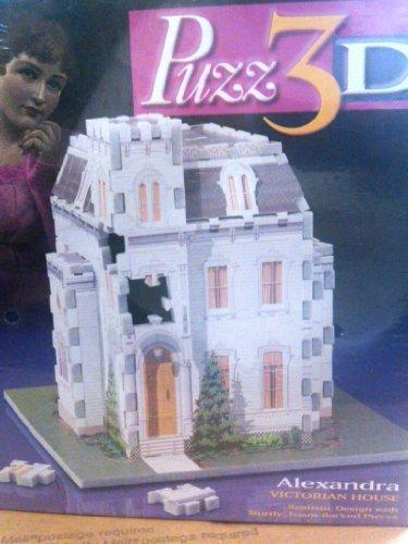 Alexandria Victorian House 3-D Puzzle