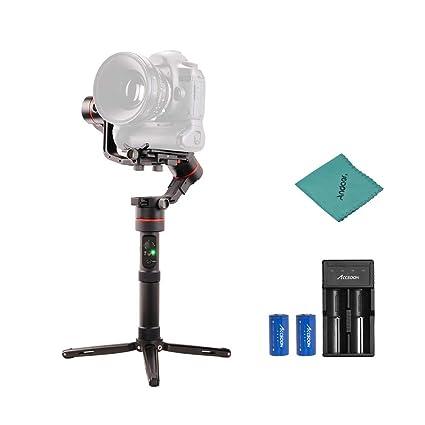 ACCSOON - Estabilizador de cámara réflex Digital de Mano con ...