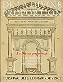 img - for De la Divine proportion - (De Divina proportione): Fac-simile de l'edition originale de 1509 (en noir et blanc) by Luca Pacioli (2014-08-15) book / textbook / text book