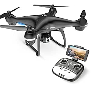Holy Stone HS100G Drone 1080p FHD Camera 5G FPV Live Video GPS Return Home Function RC Quadcopter Beginners Kids Adults Follow Me, Altitude Hold, Intelligent Battery