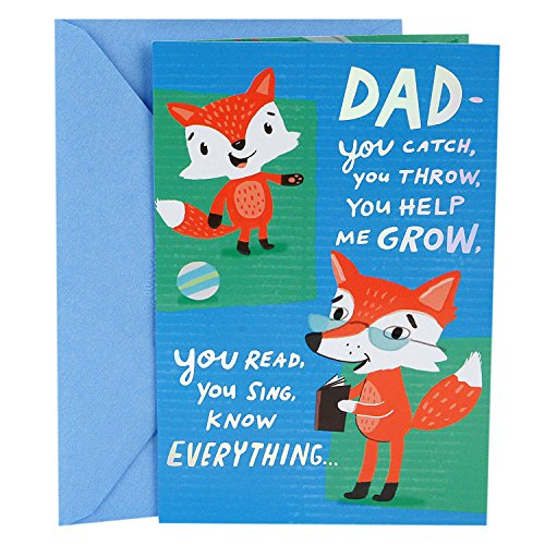Hallmark Father's Day Greeting Card from Child (Glad to Call You Dad)