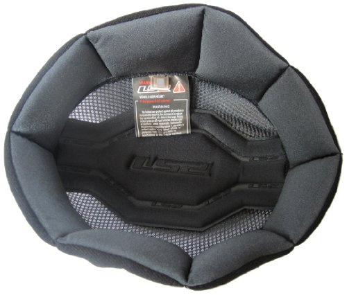 Motorcycle Helmet Pads - LS2 Helmets Liner for OF568 Helmets (Black, Medium)