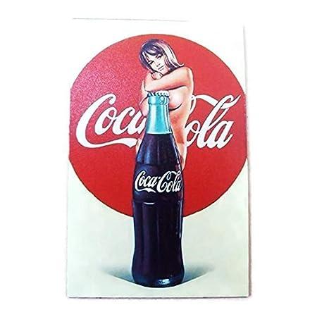 Agilidad una botella de Coca Cola y Sexy Girl Art 1 Vintage ...