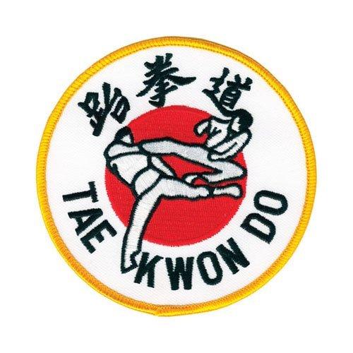 "4/"" dia Tiger Claw Shotokan Patch"