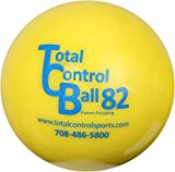 Total Control Sports Batting Ball (Pack of 12), Yellow review