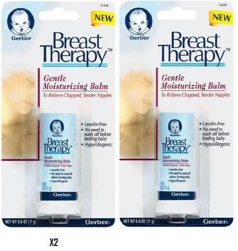 Gerber Breast Therapy Gentle Moisturizing Balm 2 Pack
