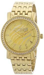 Just Cavalli Moon R7253103617 - Reloj de mujer de cuarzo, correa de acero inoxidable color oro