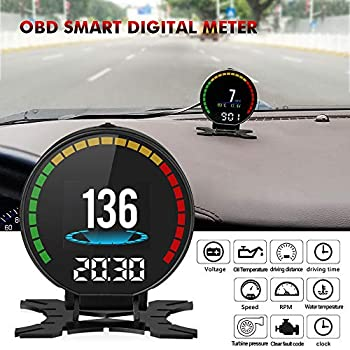Amazon Autool X50 Pro Obd2 Car Hud With Read Real Time Data