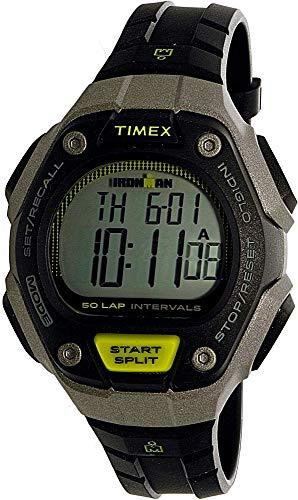Timex Ironman Grey Digital Dial Plastic Strap Men's Watch TW5K93200