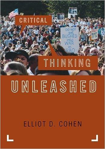 Philosophy critical thinking