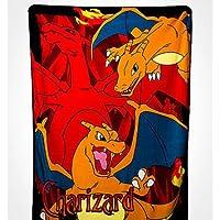 "Pokemon - Charizard - 46' x 60"" (117cm x 152cm) Super Plush Throw/Blanket - Orange Fire Dragon"