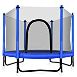 Fashionsport OUTFITTERS Trampoline with Safety Enclosure -Indoor or Outdoor Trampoline for Kids-Blue-5FT Review