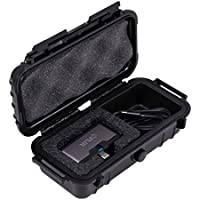 CASEMATIX Water-Resistant Travel Hard IR Case with Customizable Foam Fits Flir ONE Thermal Imager for IOS or Android , Adapters , Cables , USB or Lightning Extensions and More