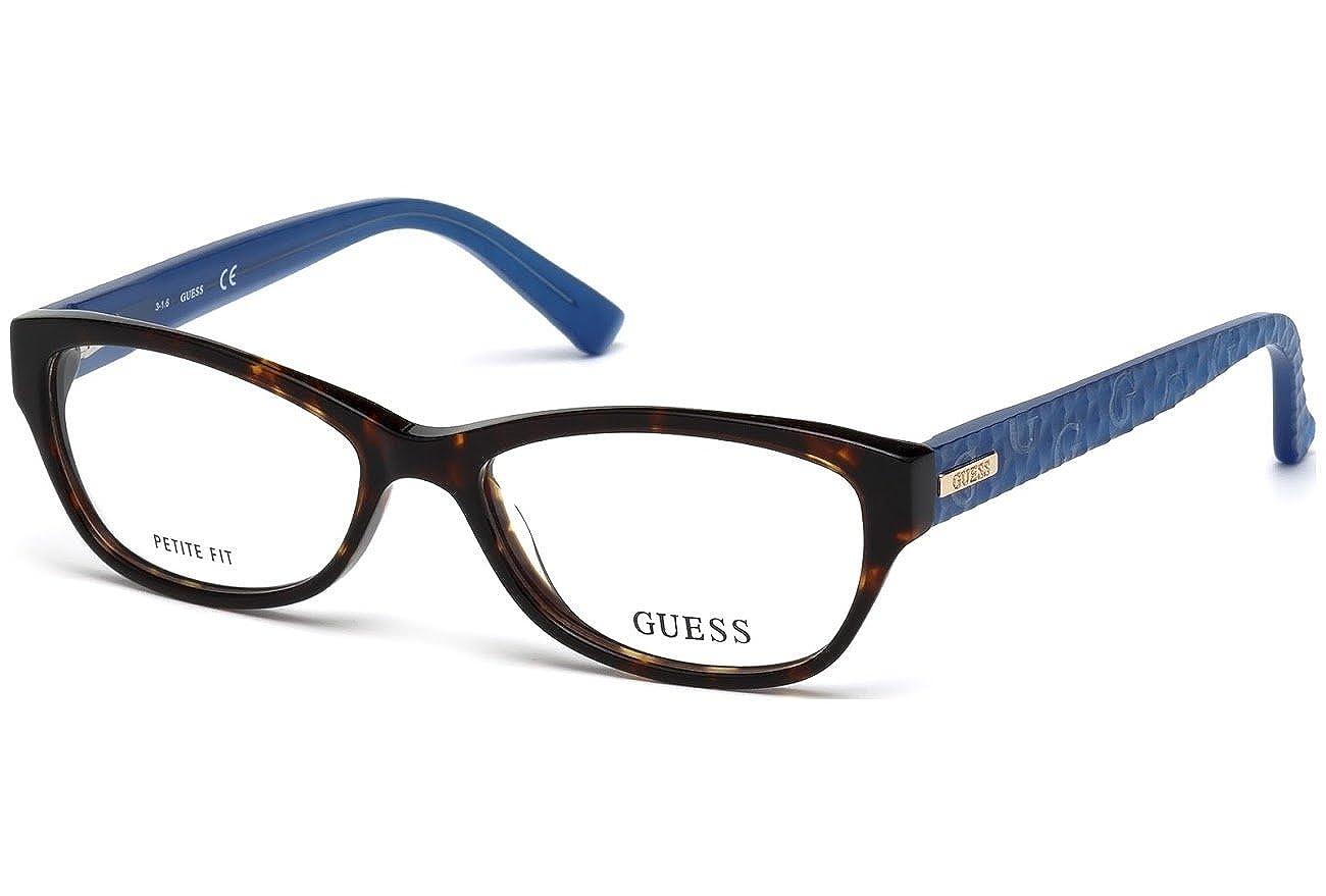 f1d6fb83110 Amazon.com  Eyeglasses Guess GU2376 056 Brown Blur Size 53 16 135  Clothing