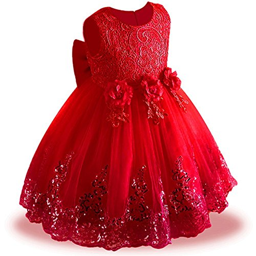 Christmas Gowns For Toddlers - LZH Girls Bridesmaid Dress Wedding Pageant