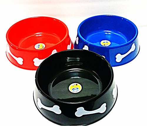 Yummy Paws 9 3 Quot Premium Lightweight Dog Bowl Plastic Pet