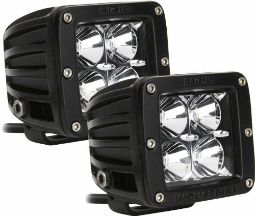 Rigid Industries 20213 Dually Red Floodlight, (Set of 2)