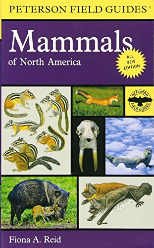 Peterson Field Guide to Mammals of North America: Fourth Edition (Peterson Field Guides) cover