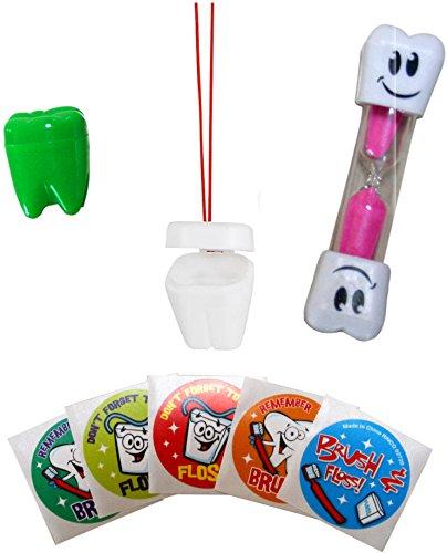 Teeth Brushing Necklace Holder Stickers product image