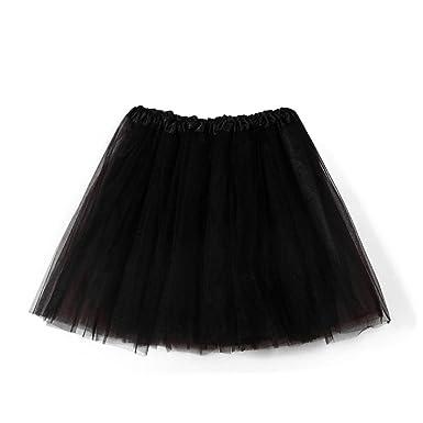 venta oficial estilo clásico de 2019 brillante en brillo Mujer Adultos Mini Falda de Ballet Skirt Princesas Tutú de Tul para Baile  Disfraces Fotografía Fiesta Despedida de Soltera