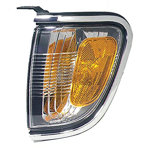 Toyota Tacoma Corner (Toyota Tacoma Left Driver Side Corner Light With Chrome Bezel)