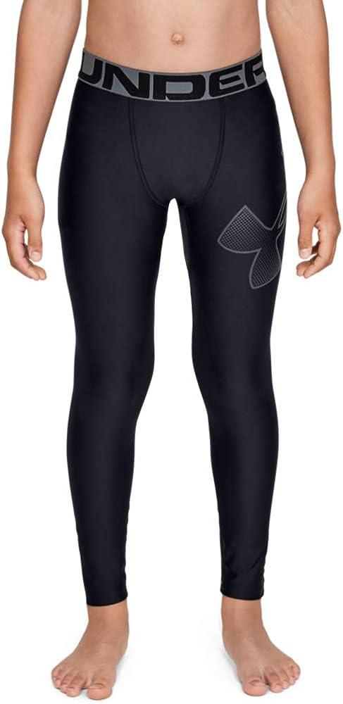 Under Armour Boys' HeatGear Leggings: Clothing