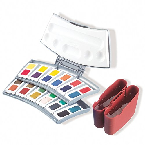 Pelikan Transparent Watercolor Paint Set, 24 Colors (721894) from Pelikan