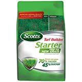 Scotts Turf Builder Lawn Food - Starter Food for New Grass, 14,000-sq ft (Lawn Fertilizer for Newly Planted Grass) (Not Sold in Pinellas County, FL)