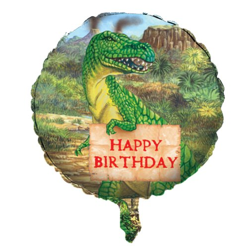 18″ Dinosaur Birthday Balloon, Health Care Stuffs