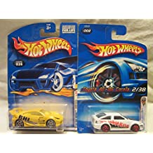 Hot Wheels 2001 First Edition Toyota Celica #036 & 2006 First Edition Toyota Corolla #002 Die Cast 1/64 Scale 2 Car Bundle!