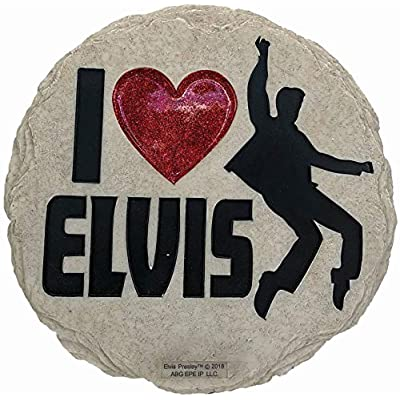 Spoontiques 13240 Elvis Stepping Stone, Multicolor : Garden & Outdoor