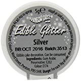 Rainbow Dust SILVER 100% Fully Edible Cake Sparkle Glitter Sugarcraft Decoration