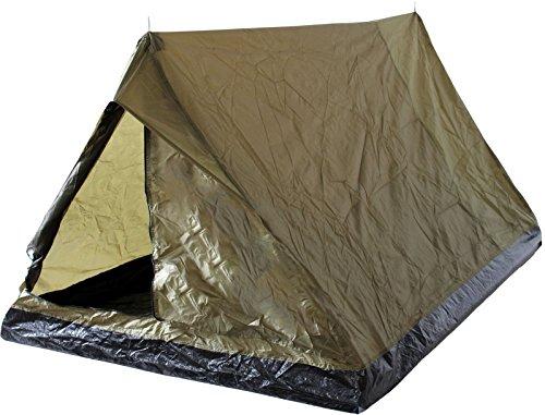 Outdoor Zelt für 2 Personen Minipack Oliv
