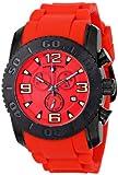 Swiss Legend Men's 10067-BB-05 Commander Analog Display Swiss Quartz Red Watch