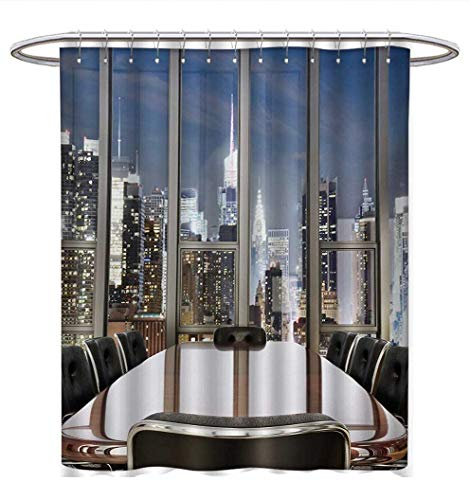 Atlanta Falcons Office Chair Anhuthree Modern Shower Curtains