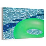 Westlake Art - Water Green - 5x7 Canvas Print Wall Art - Canvas Stretched Gallery Wrap Modern Picture Photography Artwork - Ready to Hang 5x7 Inch