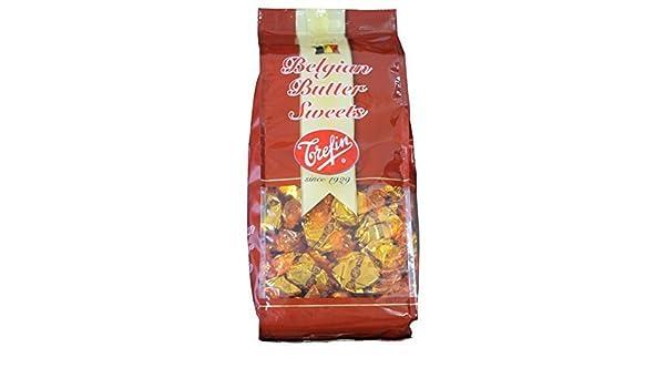 Belga Trefin B?lgica TORAYFAN mantequilla de toffee (caramelo de mantequilla) de entrada 960g: Amazon.es: Alimentación y bebidas