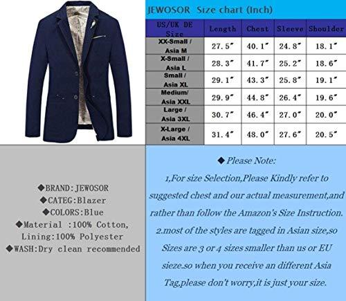 Jack De Blau Algodón Abrigos Blazer Larga En Un Hombres Chaqueta Invierno Corte Abrigo Manga Chic Otoño Slim Para Pecho Solo Vintage R1YxEwxq6
