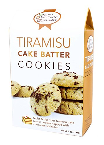 Tiramisu Cake Batter Cookies 6oz - Tiramisu Dessert