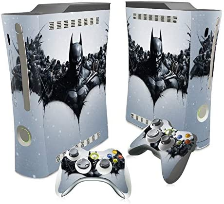 XIANYING Joker Batman Superman Harley Quinn Skin Sticker Decal for Xbox 360 Console and Controllers Skins Stickers for Xbox360 Vinyl