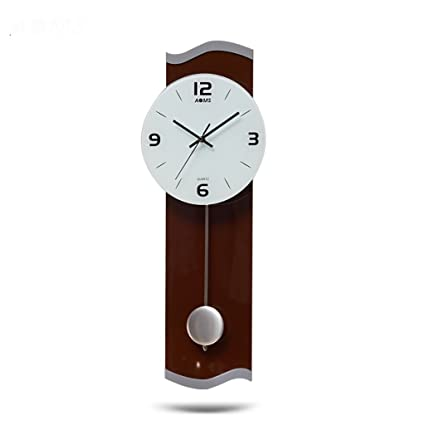 TIANTA- Silent Pendulum Clock Wall Clock Living Room Bedroom Modern Simple Personality Creative Wall Clock