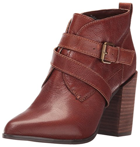 Nine West Women's Kelela Suede Boot, Cognac, 8.5 M US
